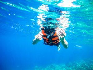 準備開始浮潛啦!