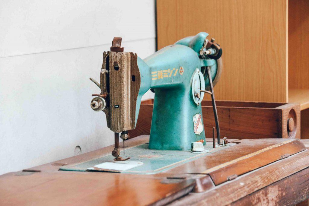 忠青商行裁縫機