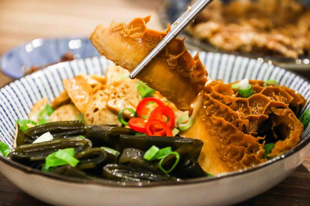 滷味拼盤(豆干、海帶X2、牛肚)