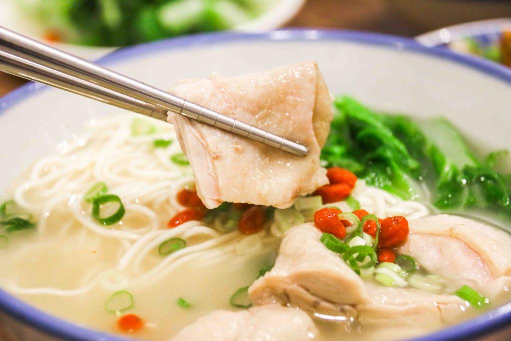 濃厚雞白湯麵