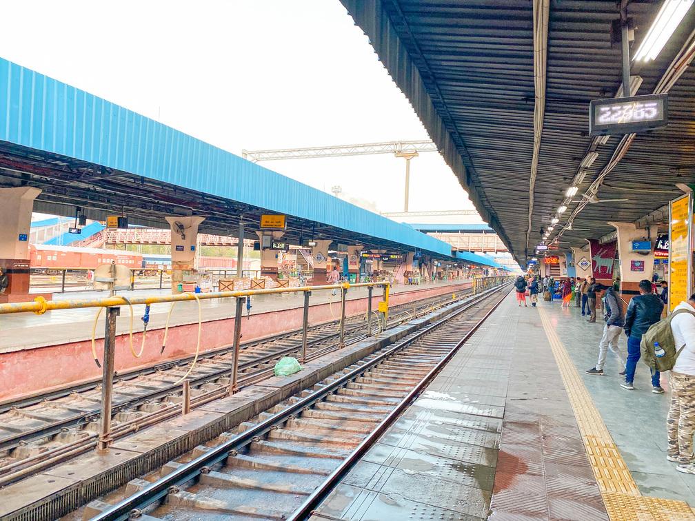 印度火車站內部